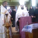 Служба на Вознесение Господне и освящение колоколов в нашем храме